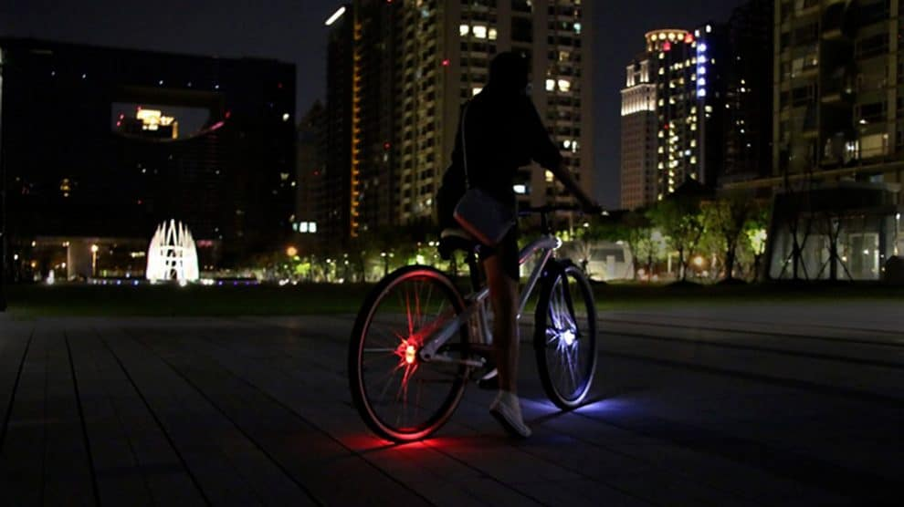 Wheely Bicycle Light éclaire vos roues de vélo à 360°