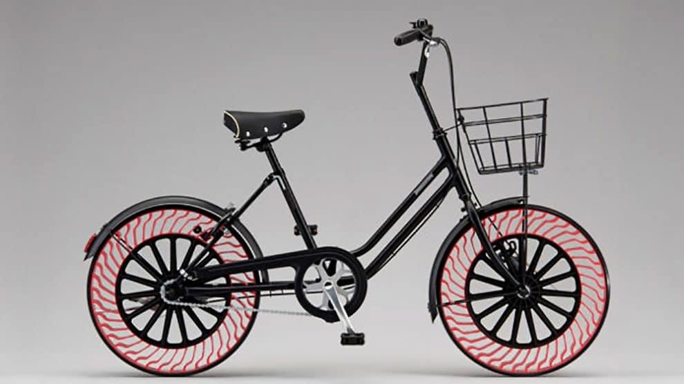 Bridgestone présente Clever Bicycle avec Air Free Tires