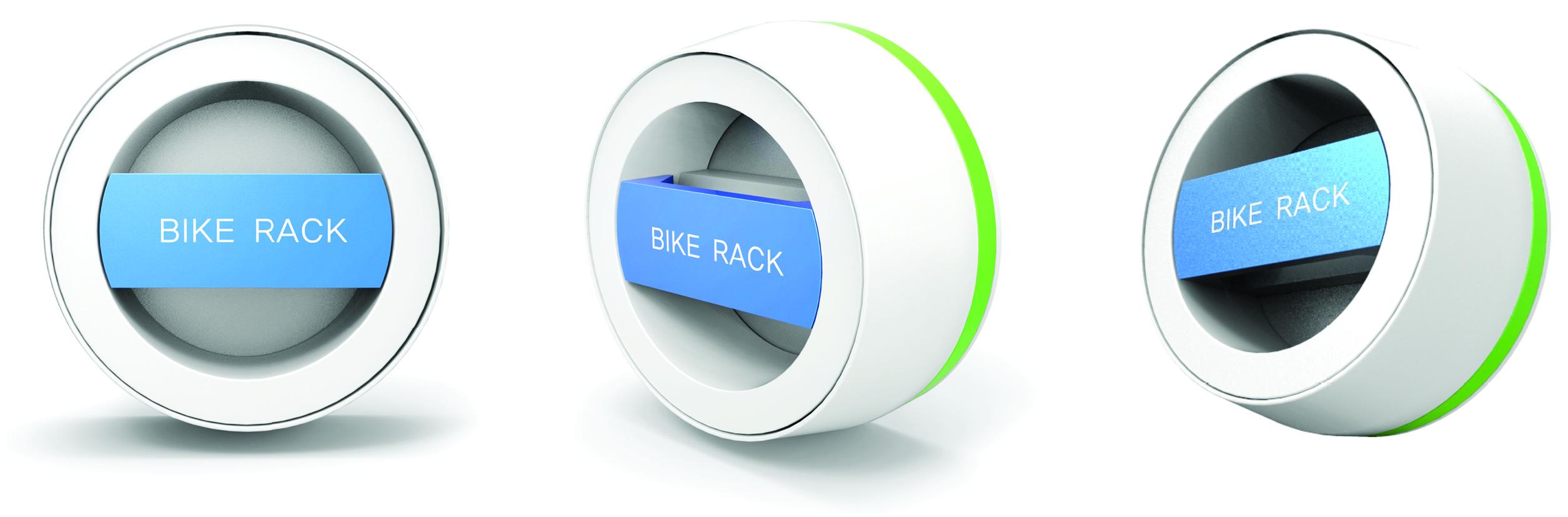 Wall-Hanger bike rack, nouveau parking à vélos urbains
