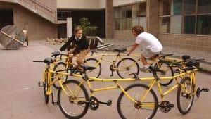 Circular Bike, des vélos singlespeed liés les uns aux autres