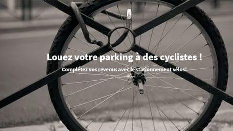 Veloducoin c'est le parking à vélo des voisins en milieu urbain