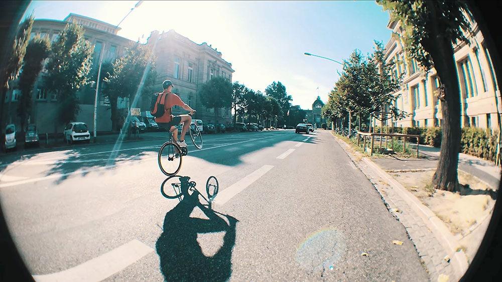 Vidéos Fixed Gear dans les rue de Strasbourg en 4K