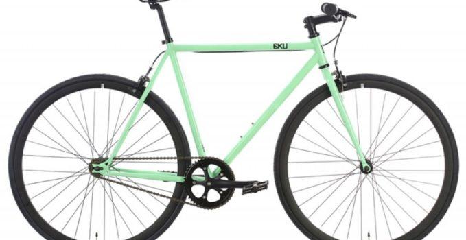 Vélo urbain fixie singlespeed flip/flop Milan 2 6KU