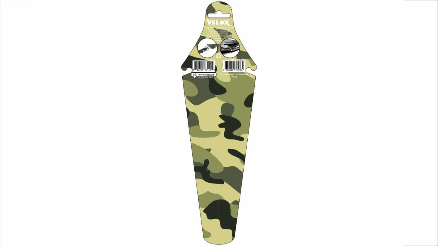 Garde boue arrière de selle Velox Cambo camouflage