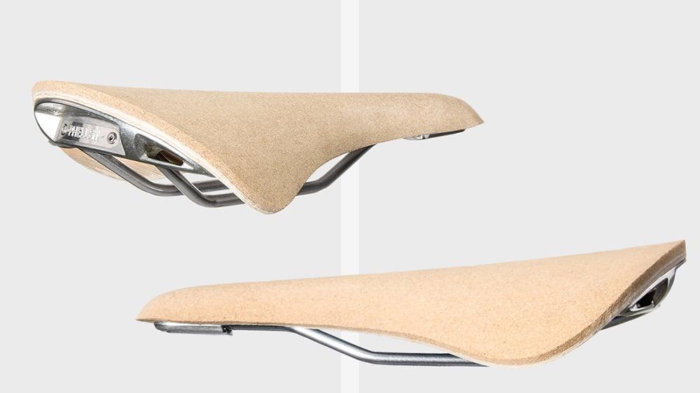 Découvrez Phellem la selle de vélo en liège de Janis Specks