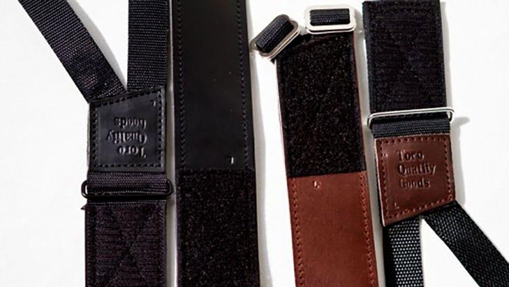 Sofus X Toro Tigh 10 straps vintage cuir et T-005