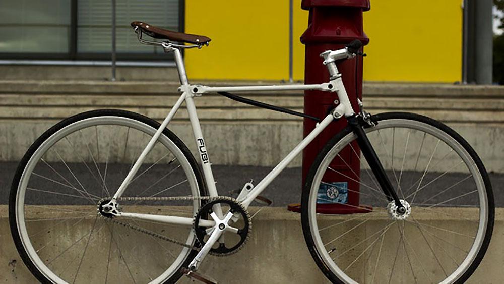 Le Fubi Fixie de Montague, un vélo pliant en mode pignon fixe