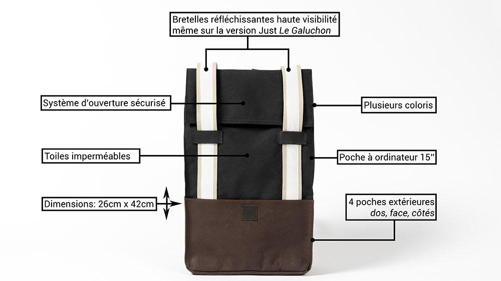 Le nouveau sac à dos connecté Galuchon de Galanck