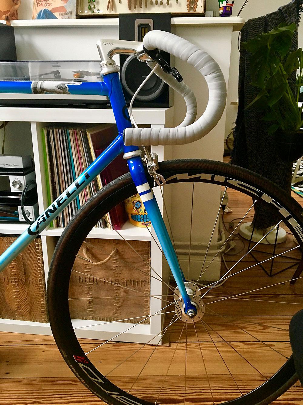 Réalisation d'un vélo de piste à pignon fixe par notre internaute