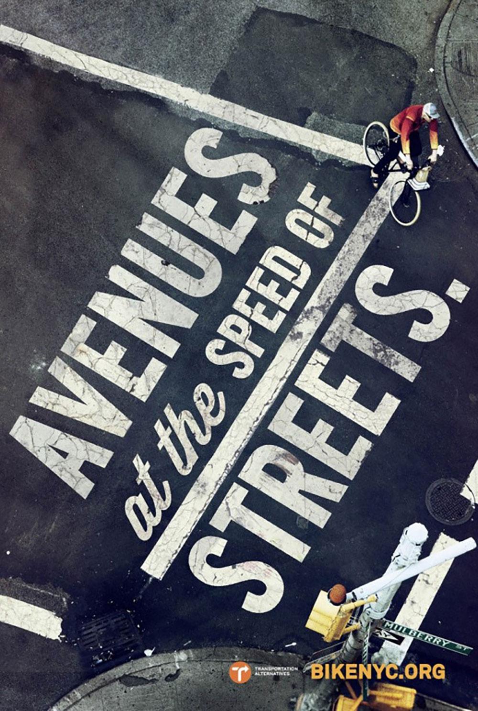 Campagne publicitaire new-yorkaise pour la promotion du vélo urbain