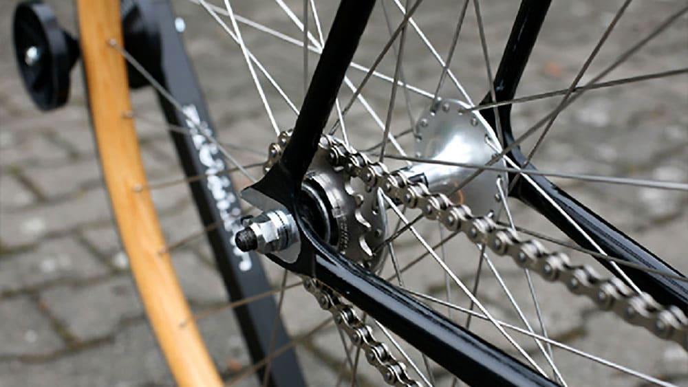 Vélo fixie en 5 exemplaires entièrement réalisé à la main, le X Krabo Ecollaboration