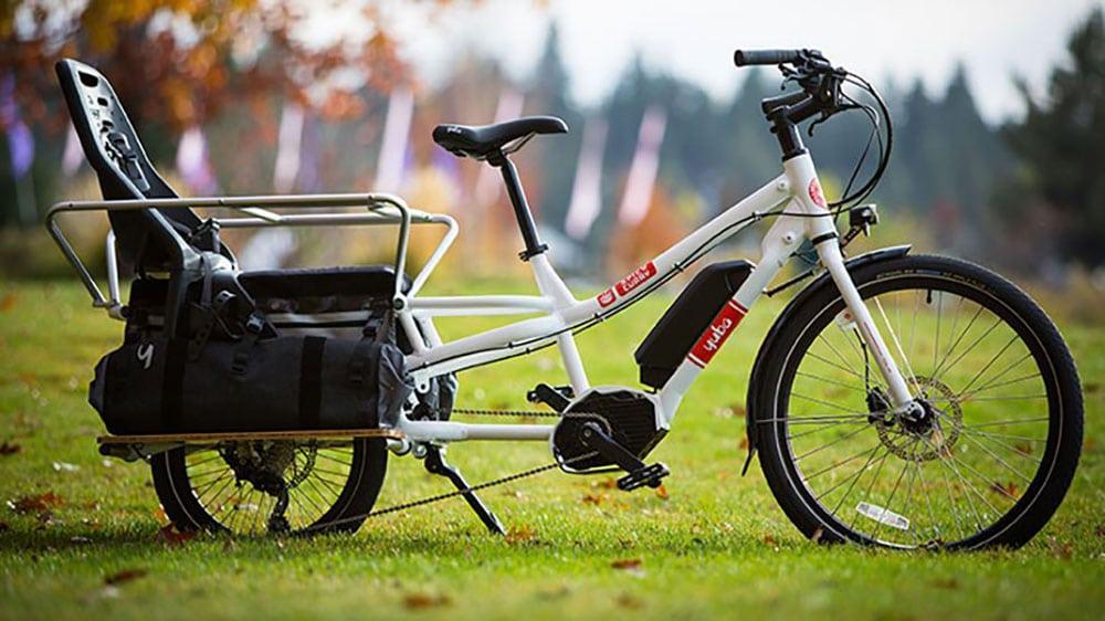 Les magnifiques vélos cargo lontails de chez Yuba Bikes