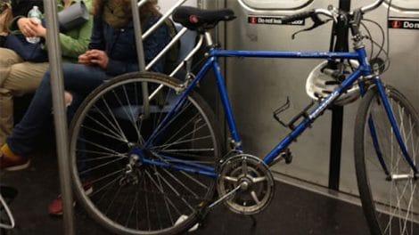 Ce qui est autorisé ou pas avec un vélo dans les transports