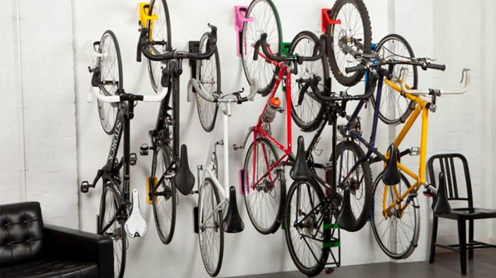 Les supports muraux de vélo urbain ou de ville Cycloc
