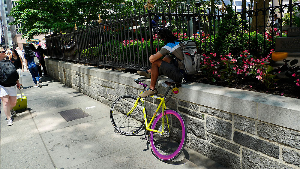 Photos de fixie et singlespeed dans les rues de New-York