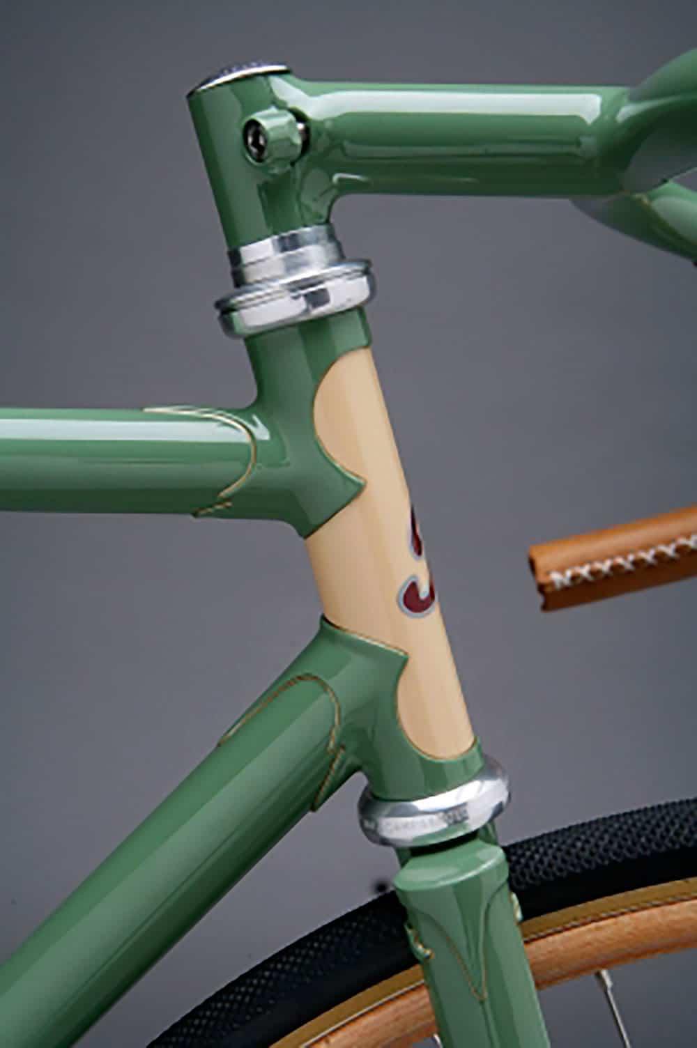 Magnifique vélo  fixie Grass Towend Racer de Cycles Towsend