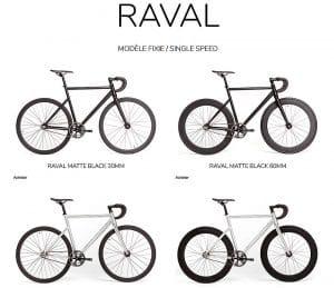Vélo urbain fixie singlespeed Raval de Santafixie