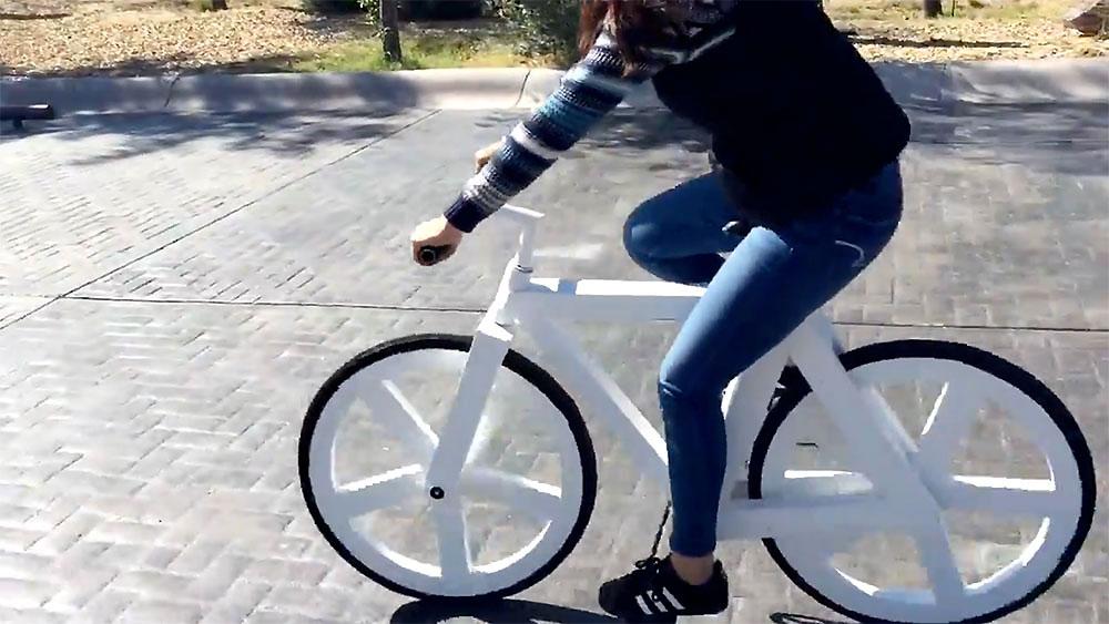 Découvrez un vélo éthique réalisé en papier recyclé par Greencode
