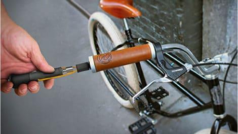 Incog Biketool, de outils qui tiennent dans le guidon !