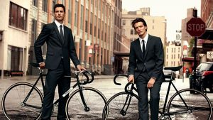 Collaboration entre Strellson et Bianchi The rolling style