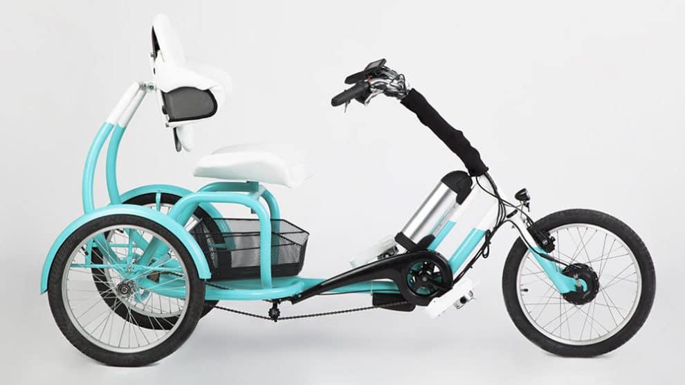 Le designer Tamás Túri a conçu le tricycle Cero