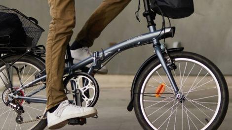 Vélo pliant Tilt 120 B'Twin Decathlon à 230 euros