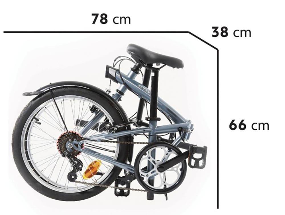 Vélo pliant Tilt 120 B'Twin Décathlon à 230 euros