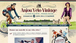 Rando vélo rétro avec Anjou Vélo Vintage