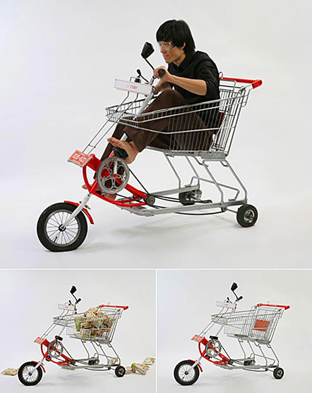 Faire ses courses en vélo caddy !
