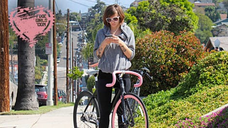 Le vélo et les filles c'est pas incompatible !