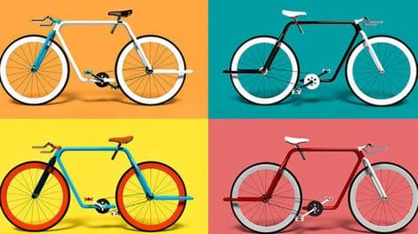 Piped bike, un concept de vélo urbain monovitesse tubulaire !