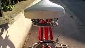 Single speed rouge Champion, vintage 80′