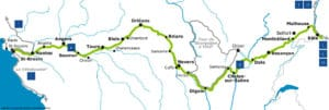Traversez l'Europe à vélo sur la piste cyclable EuroVelo 6