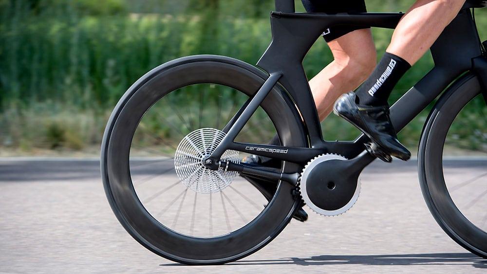 CeramicSpeed un concept de transmission de vélo sans chaine