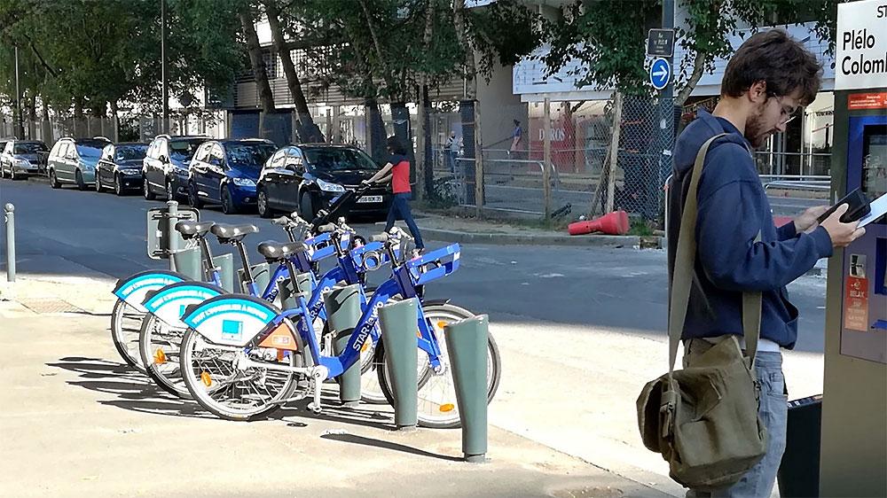 Les vélos libre-service sont désormais sponsorisés par la publicité