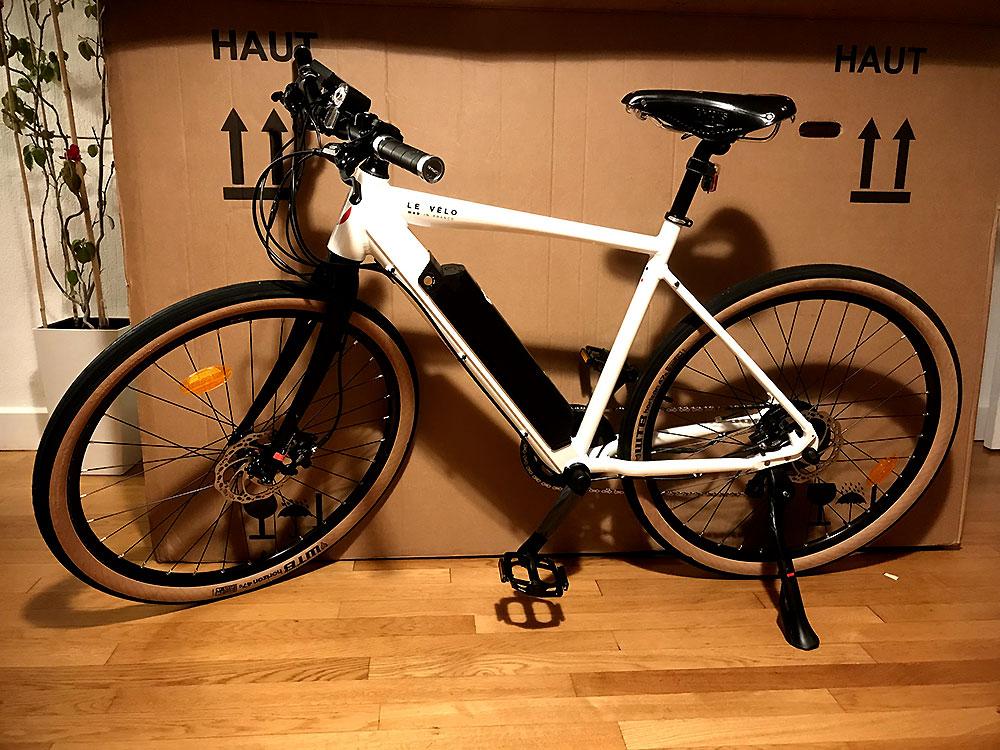 Unboxing du vélo électrique Mad In France prochainement en test