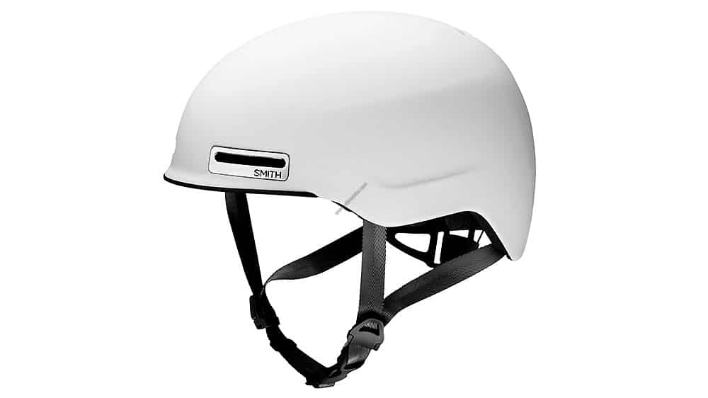 Casque Smith Maze Bike Mat Blanc