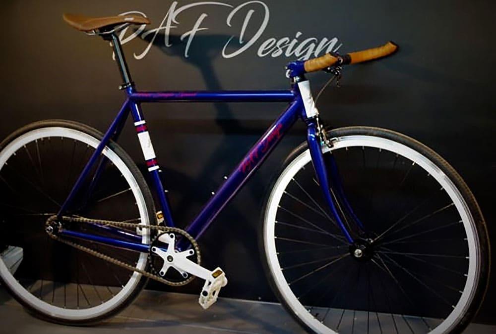 Franck Pau-Audubert propose de peindre ou repeindre vos vélos