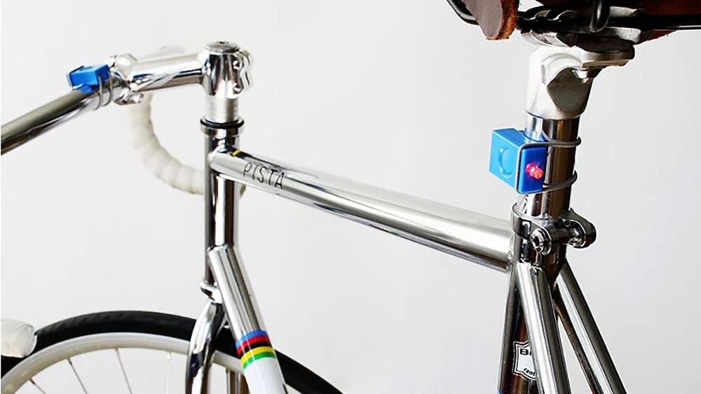 Kit Bookman de lampes avant et arrière pour vélo