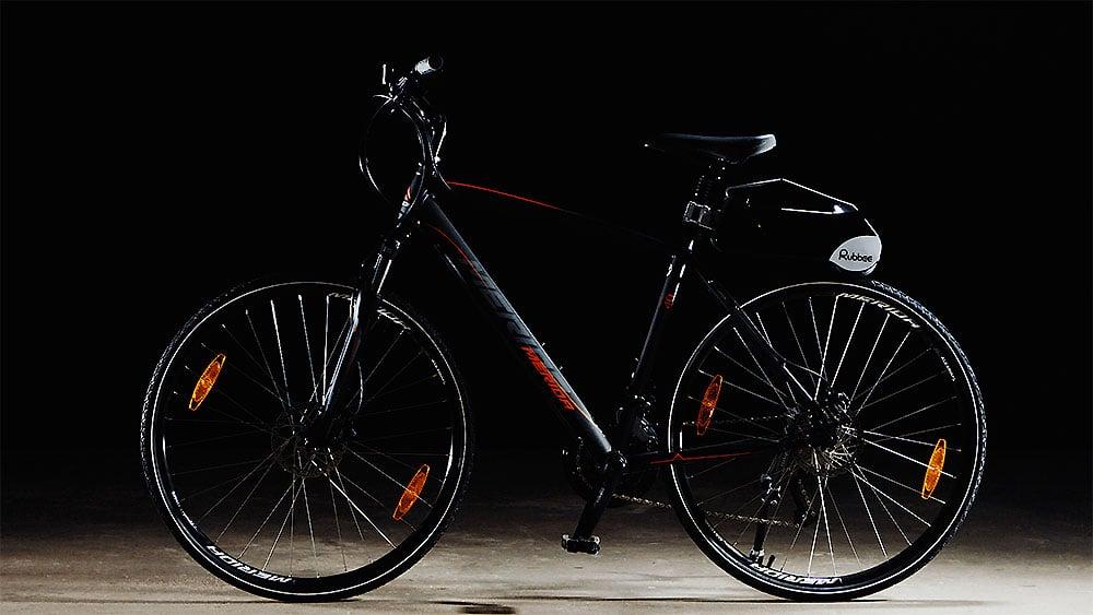 Kit électrique Rubbee convertit n'importe quel vélo en électrique