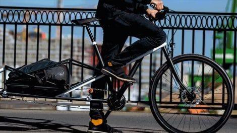 Le vélo Convercycle, tout nouveau type de vélo cargo