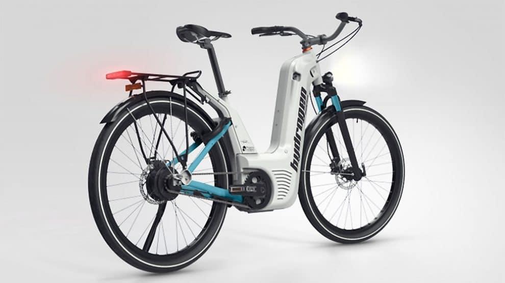 Vélo électrique à hydrogène, 100km pour 1 minute de charge