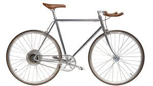 e-Jitensha vélo électrique gris style urbain