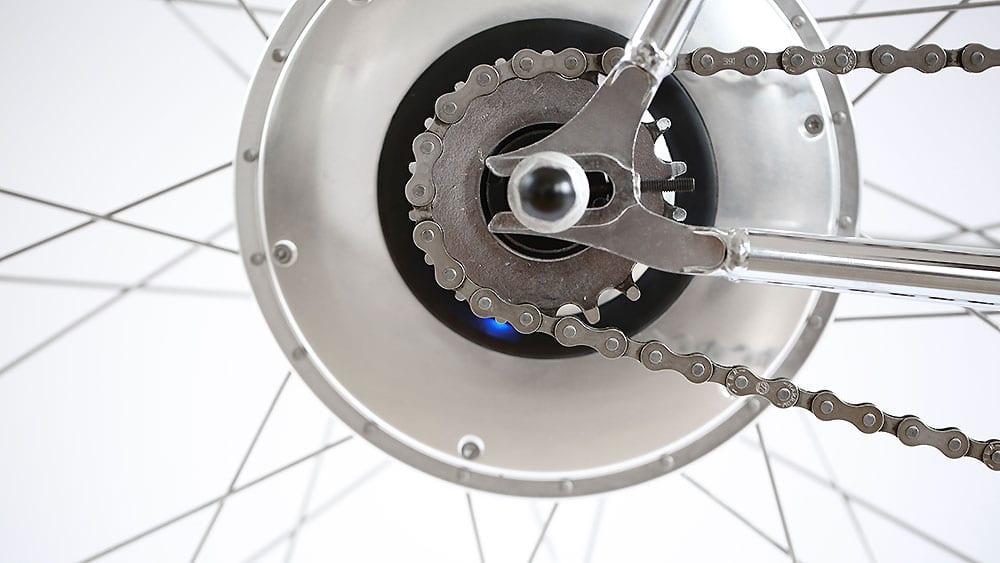 e-Jitensha vélo électrique roue arrière