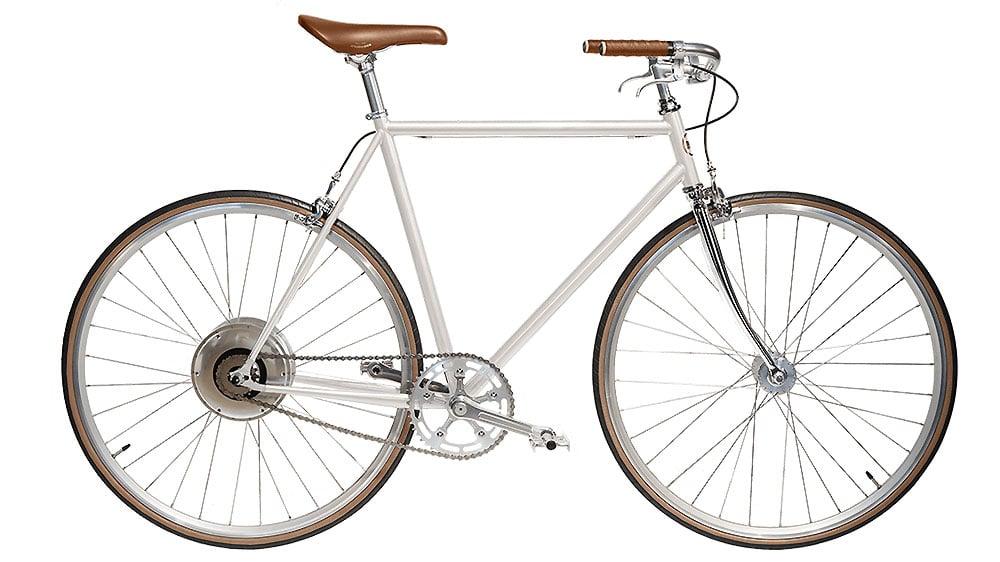 Jitensha vélo électrique blanc old school