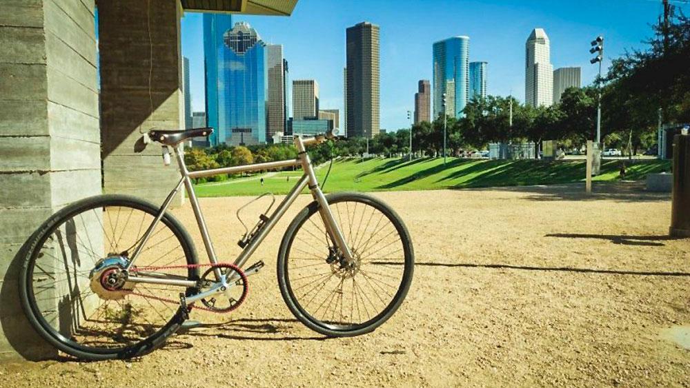 Vélo urbain en ville