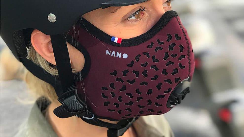 Masque français antipollution R-Pur, restez protégé au quotidien