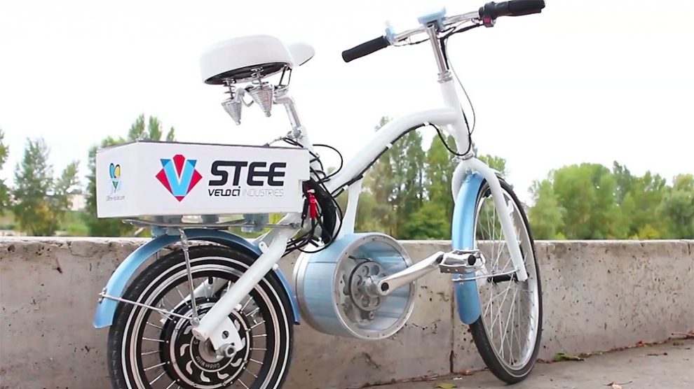 U-feel vélo électrique sans batterie d'une start-up française