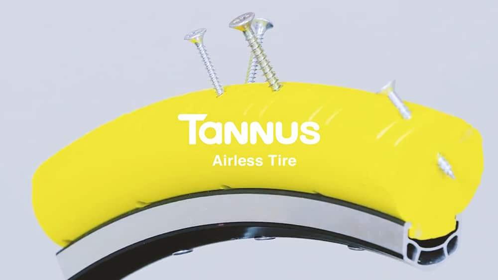 Pneus pleins Tannus, la fin des crevaisons à vélo