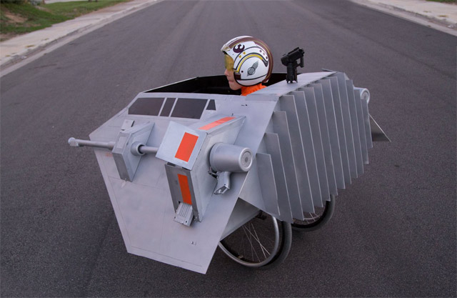 Il construit un Snowspeeder adapté au fauteuil roulant de son fils